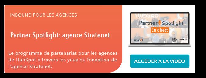 Partner Spotlight: agence Stratenet