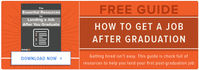 free guide to getting hired after graduation