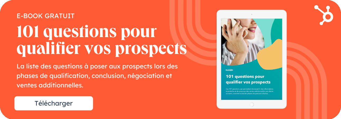 101 questions pour qualifier vos prospects
