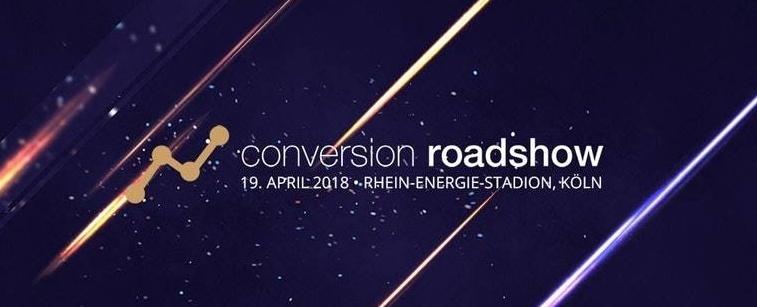 COnversion Roadshow CTA