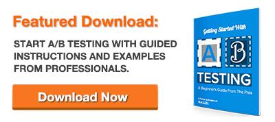 Free Guide AB Testing