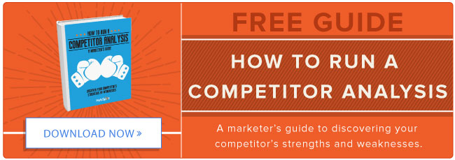 How to Run a Competitor Analysis [Free Guide]