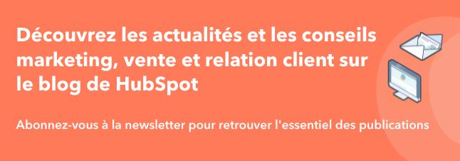 HUBSPOT NEWSLETTER