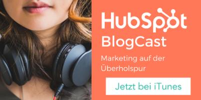 HubSpot BlogCast bei iTunes