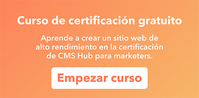 Certificación CMS Hub