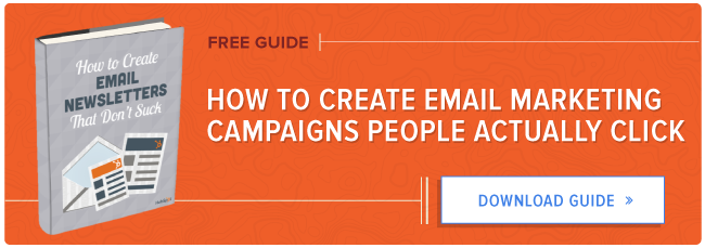 free guide to creating email marketing campaigns