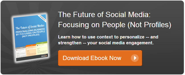 social media personalization ebook