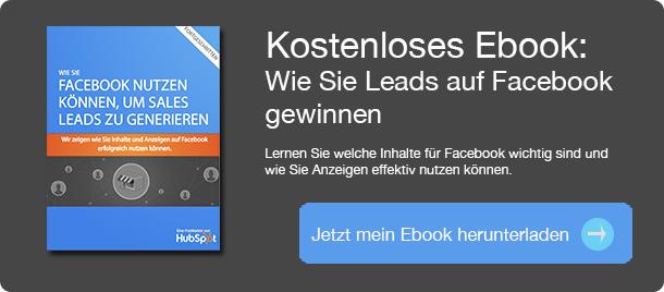 Ebook Wie Sie auf Facebook leads erhalten