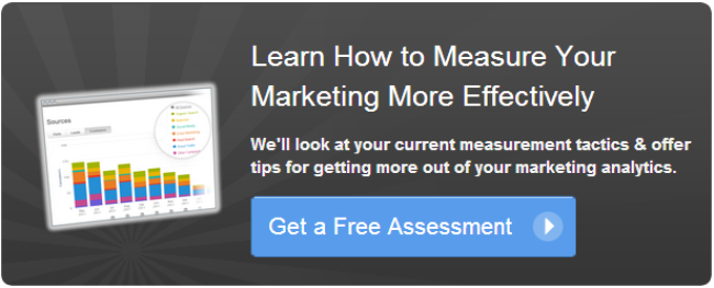 Learn How To Measure Your Marketing More Effectively - Get a Free Assessment
