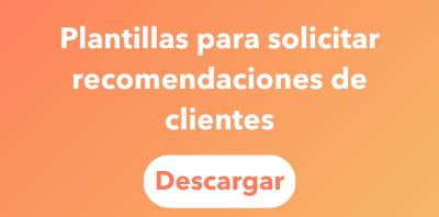 Plantillas recomendaciones de clientes