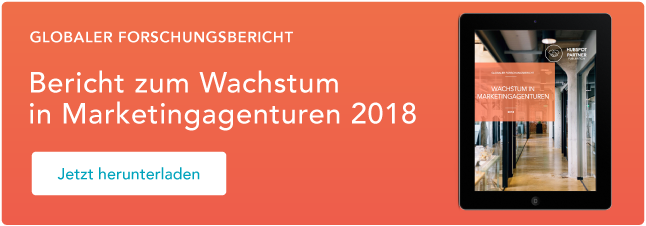 Bericht zum Wachstum in Marketingagenturen 2018