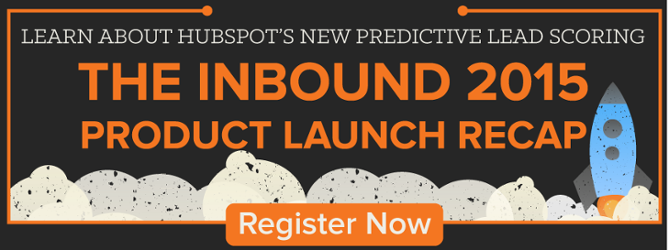 live webinar: INBOUND 2015 HubSpot product launches