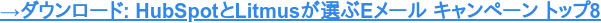 HubSpotとLitmusに大成功をもたらしたEメールキャンペーントップ8無料ガイド