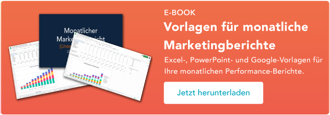 Templates für monatliches Marketing-Reporting