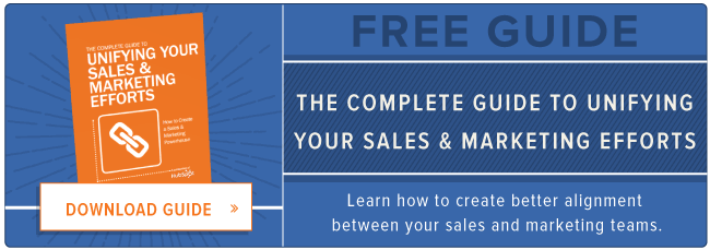 free sales and marketing alignment ebook