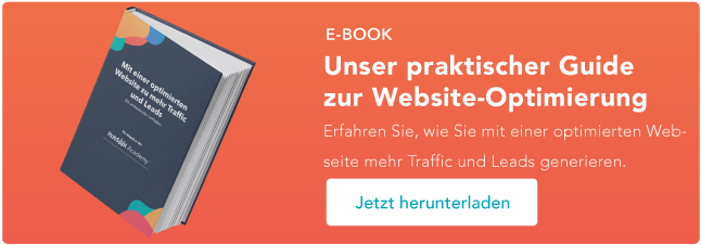 website optimierung