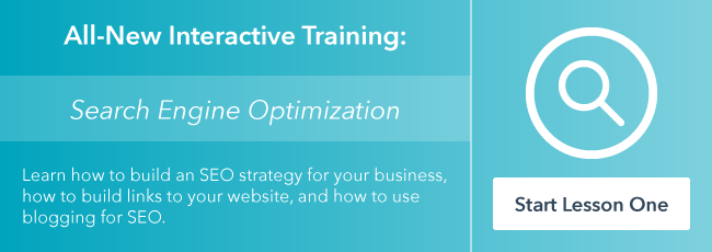 Learn SEO in HubSpot Academy