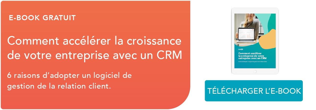 Télécharger l'e-book sur le CRM