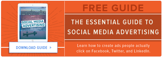 free guide to social media advertising