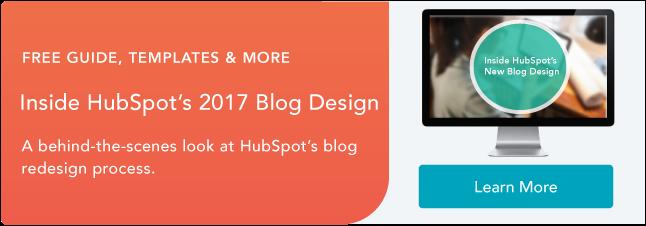 HubSpot Blog Design