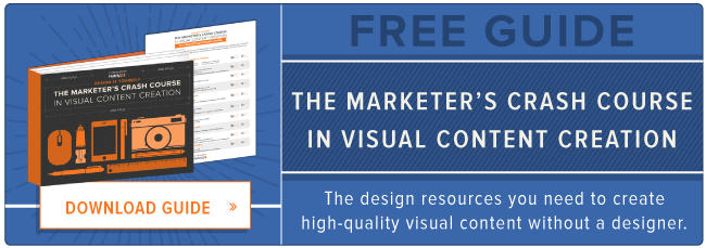 free visual content crash course