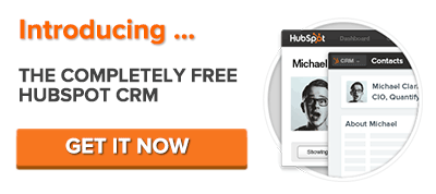 get the free HubSpot CRM