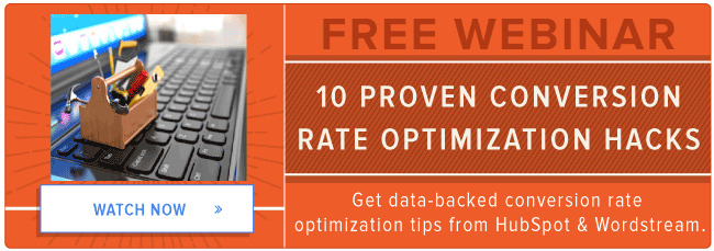 free webinar: conversion rate optimization