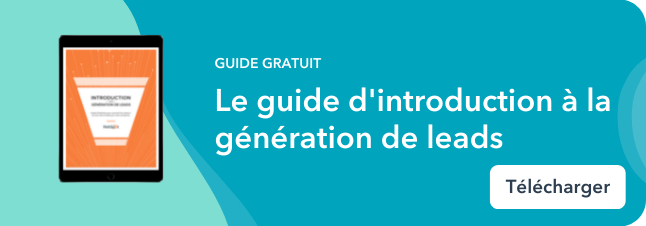 Guide d'introduction à la génération de leads