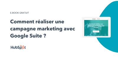 Slide-in-CTA : Comment réaliser une campagne marketing avec Google Suite ?