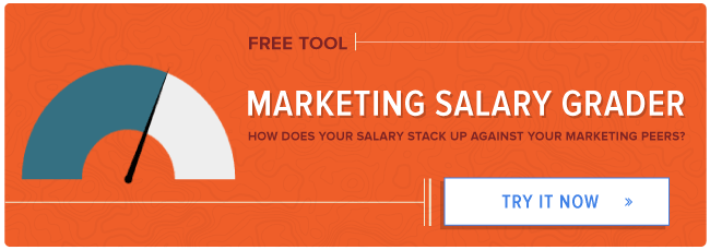 free marketing salary grader tool