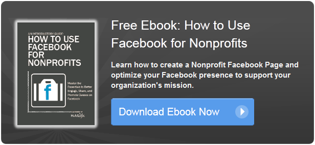 how to use facebook for nonprofits ebook