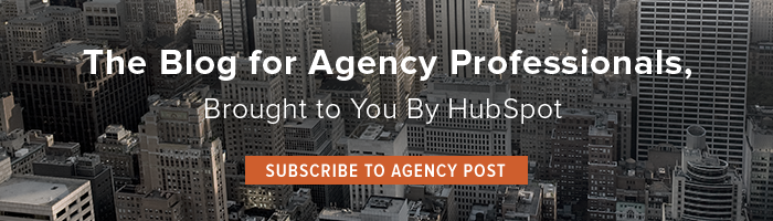The Blog for Agency Professionals, Brought to You By HubSpot