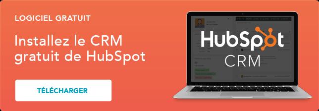 Installer le CRM gratuit de HubSpot