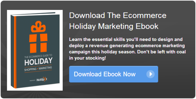 ecommerce holiday marketing