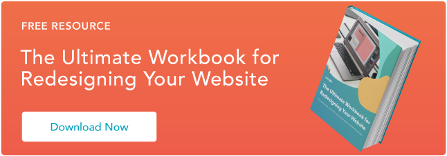 website redesign workbook guide
