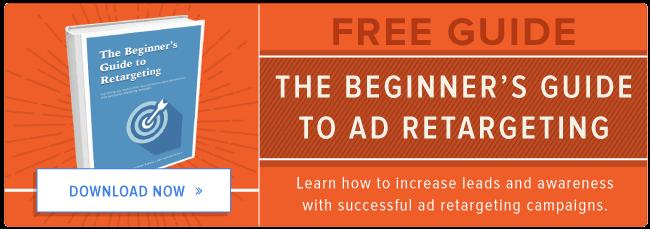 free beginner's guide to retargeting