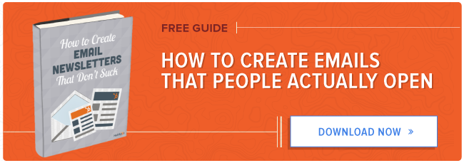 free guide to creating emails people open