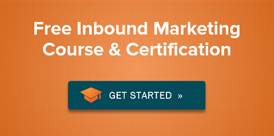 Get your Inbound Marketing Certification today