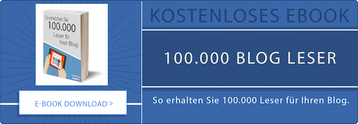 Kostenloses E-Book HubSpot 100.000 Blog Leser