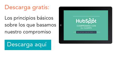 Compromiso con el cliente HubSpot