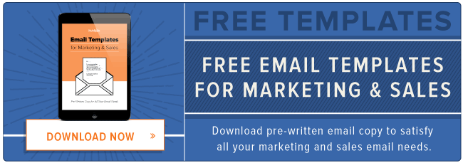 free email copy templates