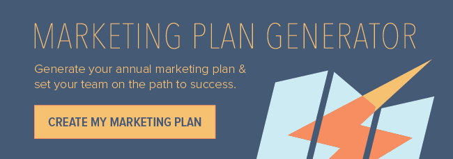 How to Create an Annual Marketing Plan [Free Tool]