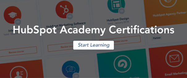 HubSpot Academy Certifications