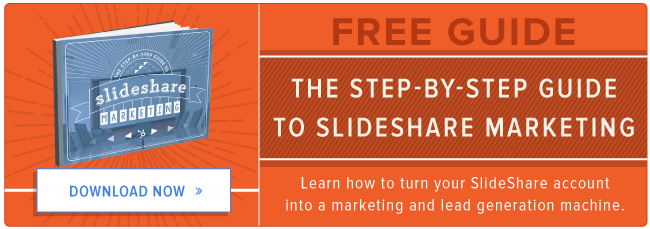 free guide to SlideShare marketing