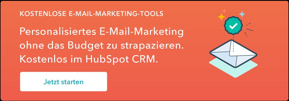 E-Mail-Marketing gehört jetzt zum HubSpot CRM. Jetzt anmelden!