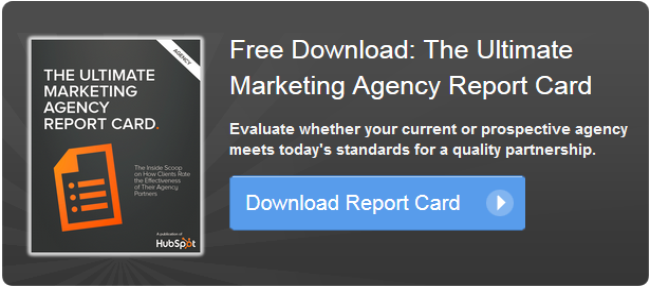 Agency report card