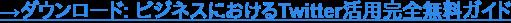 →ダウンロード: ビジネスにおけるTwitter活用完全無料ガイド