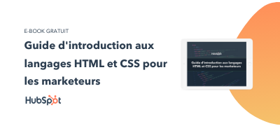 Slide-in-CTA : Guide d'introduction aux langages HTML et CSS