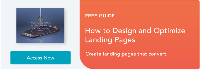 optimizing landing pages ebook