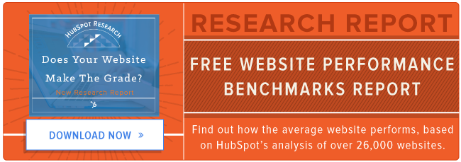 free website performance benchmark report